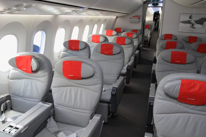 Norwegian Airlines Cabin